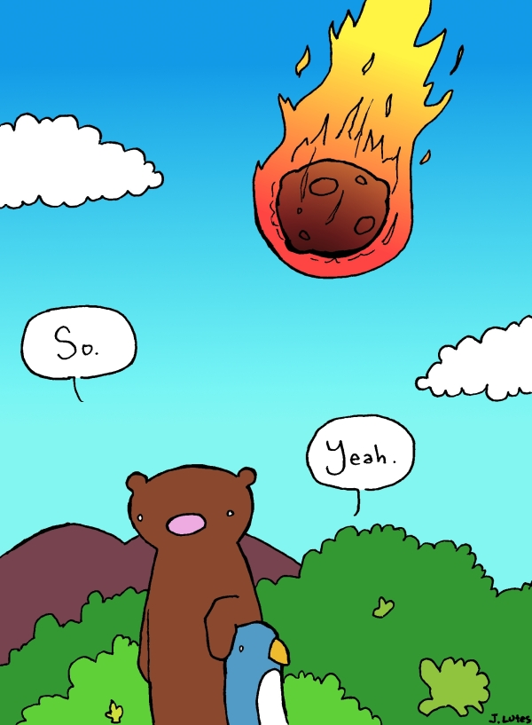 The bearpocalypse will come suddenly.
